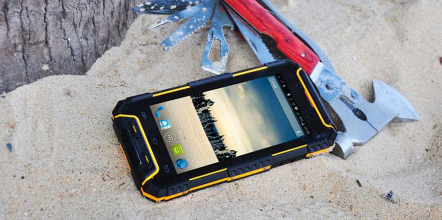 Land Rover G702 3/32GB Yellow новинка бюджетный смартфон с защитой от ударов и падений