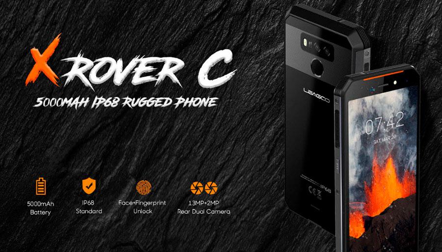 Leagoo XRover C Black рабочая лошадка в мире защищенных смартфонов