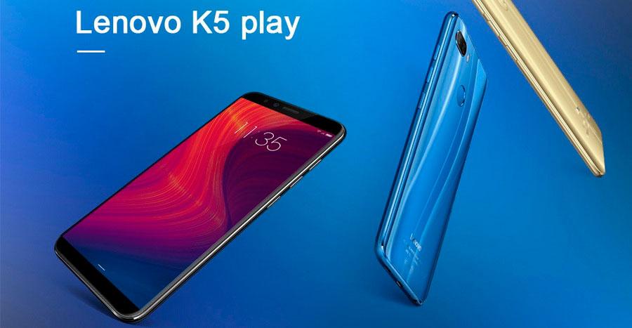 Lenovo K5 Play 3/32Gb Blue хорошая цена современный и удобный смартфон за 100$