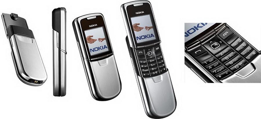 Оригинальный телефон Nokia 8800 classic edition silver в 2019 году