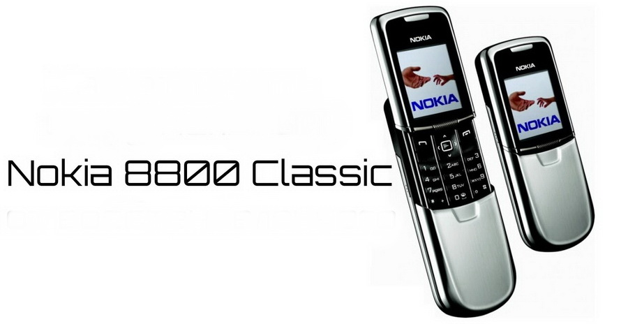 Nokia 8800 classic edition silver до сих пор пользуется популярностью