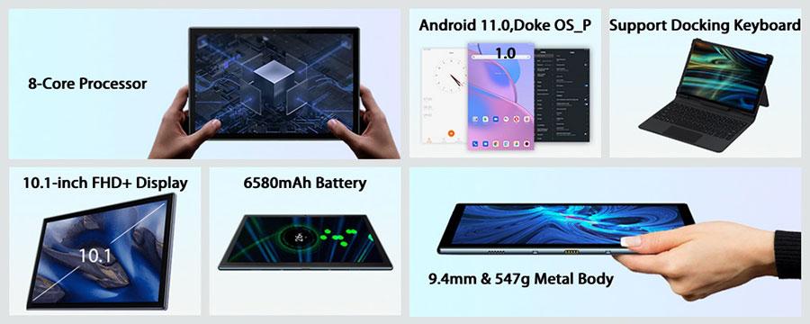 Самый полный обзор фото и видео планшета Oscal Pad 8 4/64Gb Gray в Украине у нас на сайте