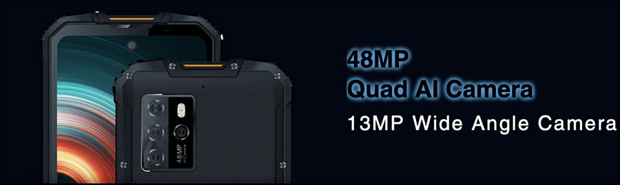 oukite wp10 5g с quad камерой на задней крышке на 48 Мп