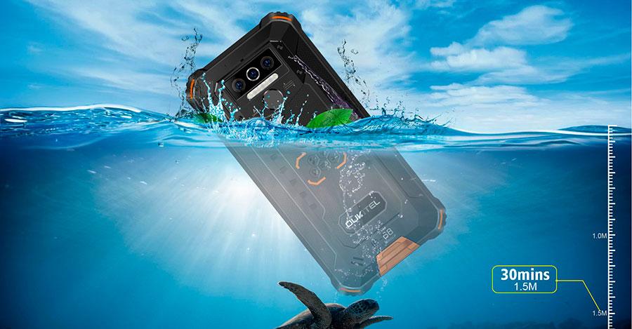 Oukitel WP5 3/32GB Orange в основной камере используются датчики изображения разрешением 13, 2 и 2 Мп, фронтальная камера является 5-мегапиксельной. Есть дактилоскопический датчик и разблокировка по лицу.