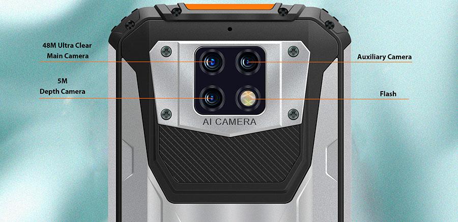 Oukitel WP6 6/128GB Orange три основных камеры это лучшее предложение в 2020 году в водонепроницаемых смартфонах