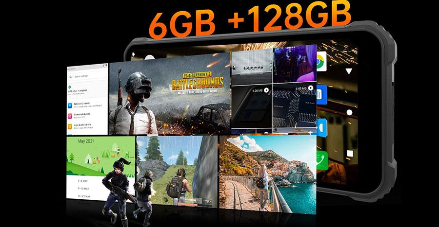 Oukitel WP9 6/128GB Black доступная цена на противоударный смартфон с хорошими параметрами и огромным аккумулятором