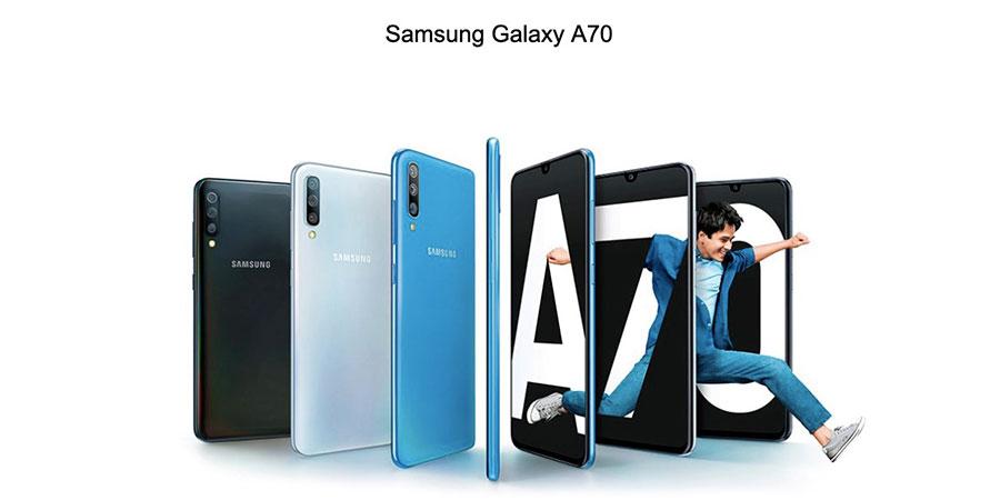 Samsung Galaxy A70 6/128Gb White новинка от флагмана
