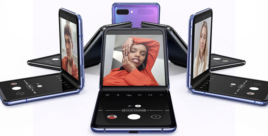 Внешний вид нового смартфона Samsung Galaxy Z Flip 8 256Gb не похож ни на одно другое устройство и полностью уникален.