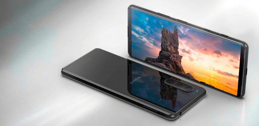 Устройство с поддержкой сетей 5G. Диагональ экран Sony Xperia 5 II – 6,1 дюйма при соотношении сторон 21:9 (2520x1080 точек) и частоте обновления 120 Гц
