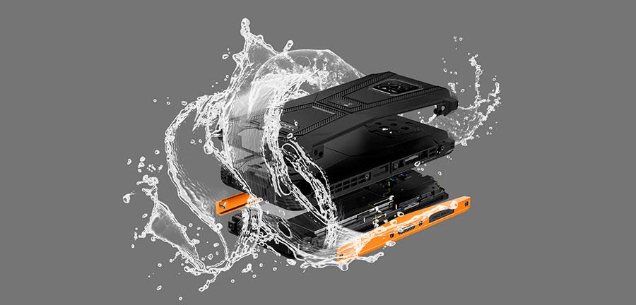 Ulefone Armor 8 4/64GB Black на смартфон установлен современный 8-ядерный чипсет Mediatek Helio P70 и 4Гб оперативной памяти