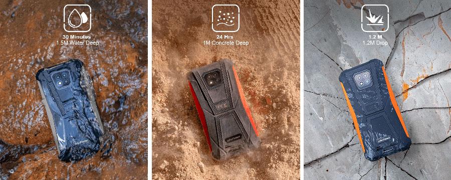 Ulefone Armor 8 4/64GB Black эргономичный смартфон с красивым оформлением и мощной батареей