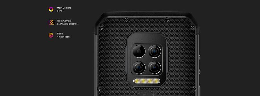 Ulefone Armor 9 8/128GB Производителем заявлена защита по стандартам IP69K и MIL-STD-810G