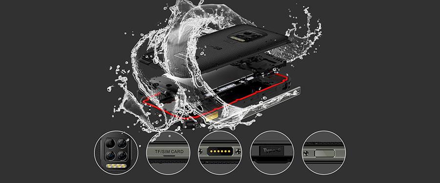 Ulefone Armor 9 8/128GB надежный и брутальный бронивик-телефон