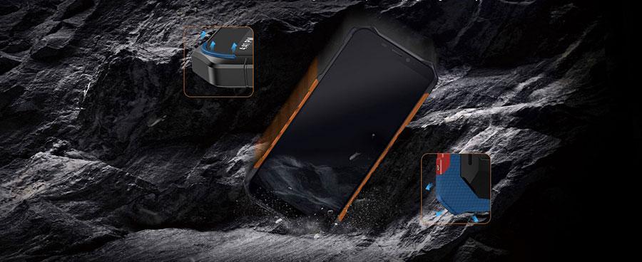 Ulefone Armor X5 3/32GB Black оснащен чипсетом Mediatek Helio P23 MT6763, 3 GB оперативной памяти и 32 GB встроенной памяти.