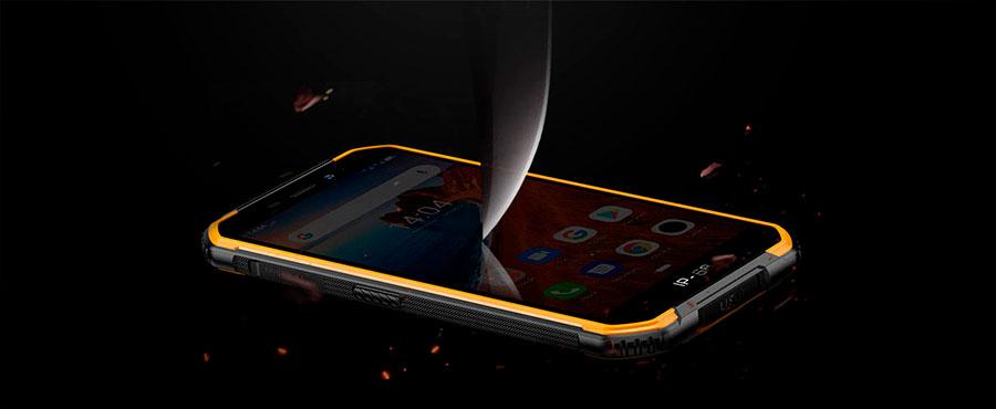 Ulefone Armor X6 2/16GB Black защищённый бюджетный смартфон-броневичок IP68, IP69K