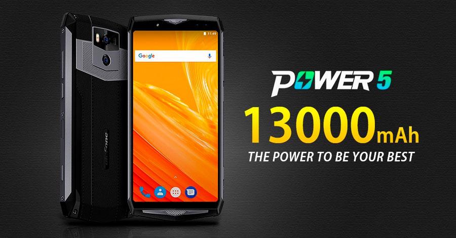 Ulefone Power 5S 4/64Gb Black