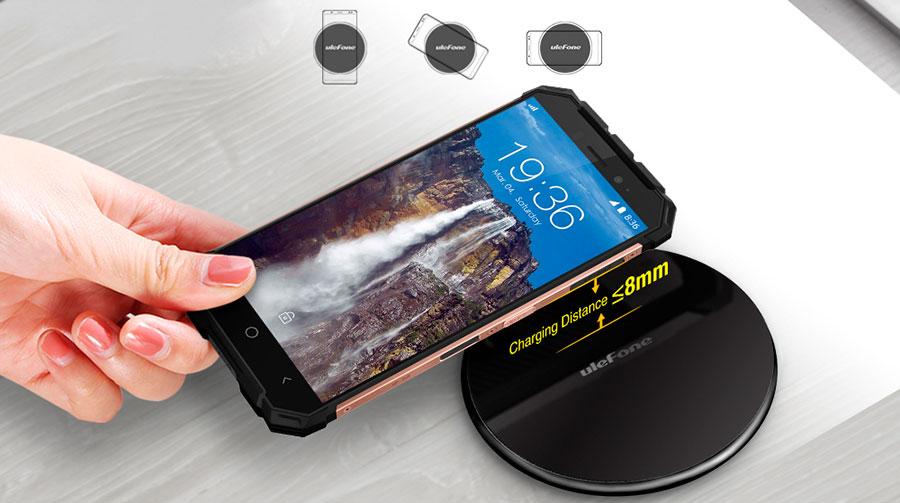 Беспроводное зарядное устройство Ulefone UF002 Black с мощностью 10W