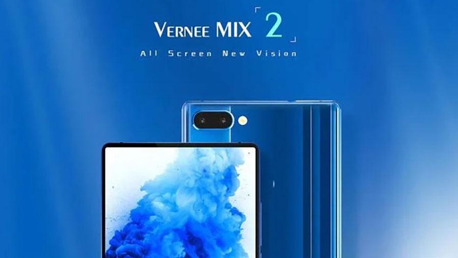 Vernee Mix 2 M2 4/64GB Black бюджетник с хорошими параметрами
