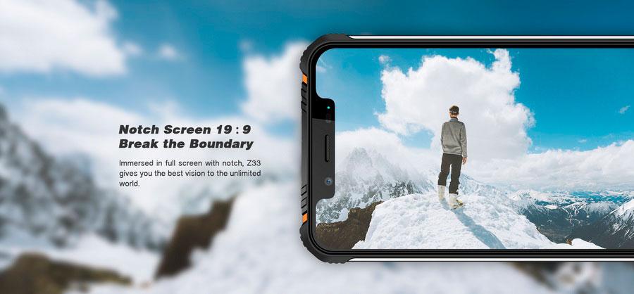 HOMTOM ZOJI Z33: новый прочный телефон